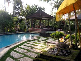 Contoh taman konsep Bali