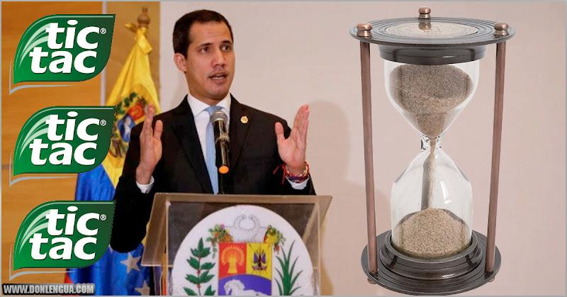 Guaidó asegura que la Dictadura se va a acabar porque los militares tienen hambre