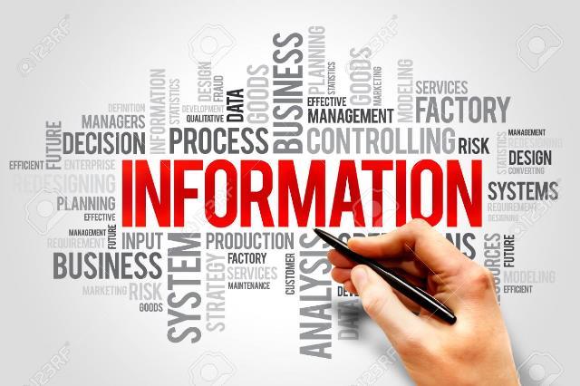Pengertian Informasi