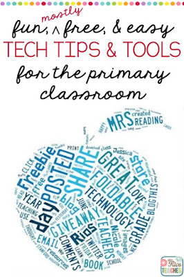 Mrs Rios Teaches: Fun, easy, and (mostly) free technology tips, tools, and apps for the primary classroom.