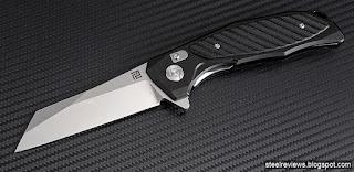 ArtisanCutlery Falcon aluminium handle with D2 blade