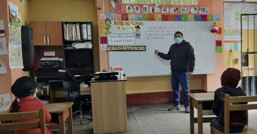 MINEDU: La prioridad del Ministerio es el retorno a clases presenciales