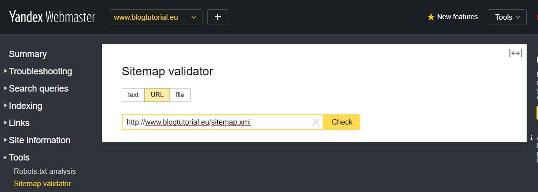 Comment soumettre son site sur Bing et Yandex - Blog Tutorial