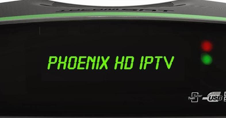 Tocomsat Phoenix HD IPTV atualização v02 038 58w On - KaduSat