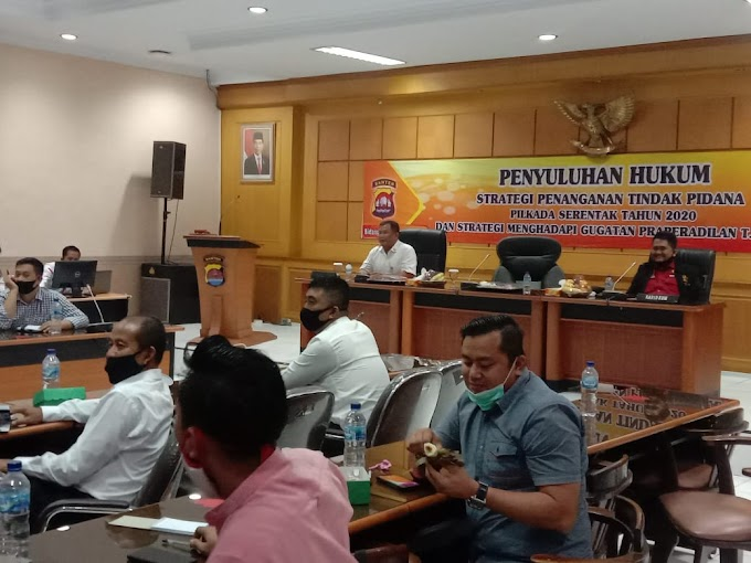 Polda Banten Lakukan Giat Penyuluhan Hukum Tindak Pidana Pilkada