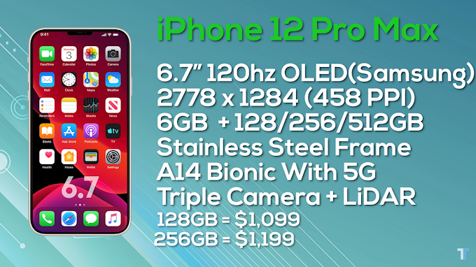 iPhone 12 Pro Max Specifications and Price in United State