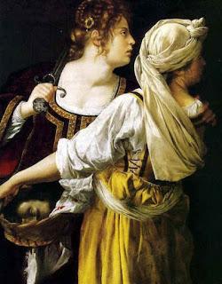 Judith par Artemisia Gentileschi