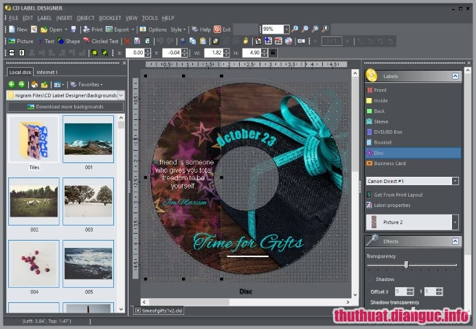 Download Dataland CD Label Designer 7.2.1 Build 767 Full Crack