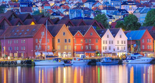 Destinasi Wisata Bergen
