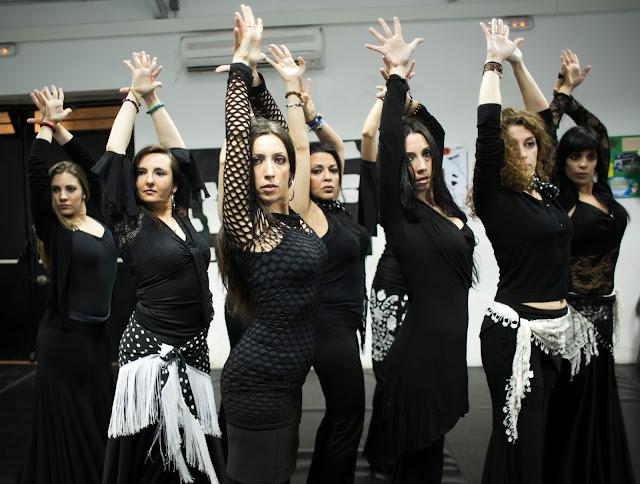 Clases de Flamenco Arabe y Flamenco Oriental con Mónica Tello