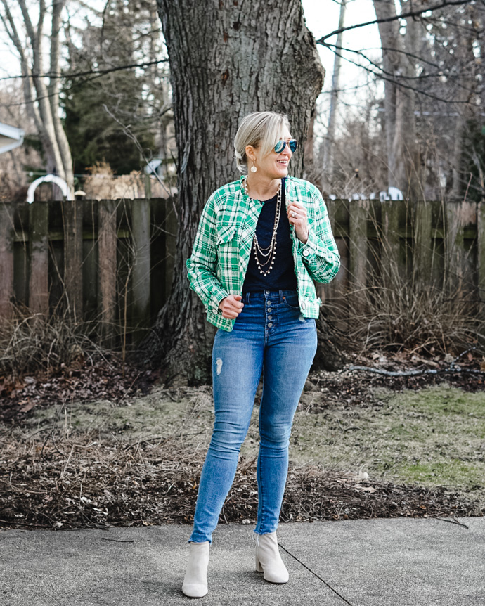 relaxed st patrick's day outfit