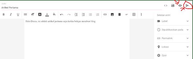 Cara Mudah Membuat Blog di Blogspot