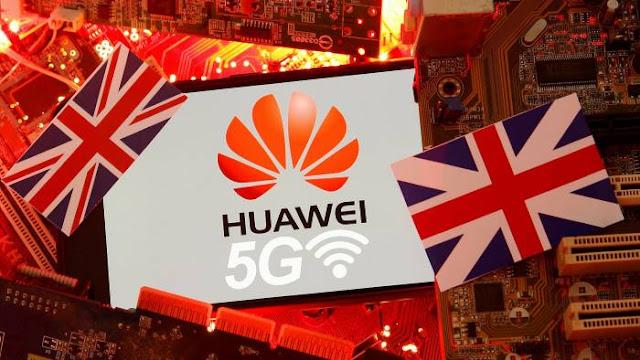 Huawei Banned in UK