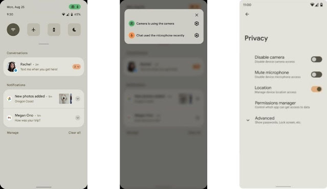 Android 12 Privacy