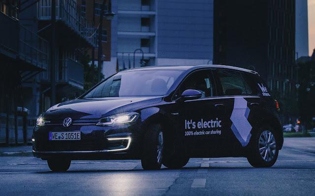 VW lança sistema de compartilhamento de carros - Europa