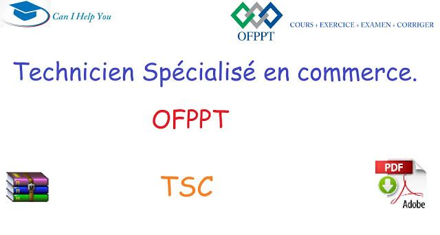tous cours  TSC ( PDF جميع دروس) COMMERCE