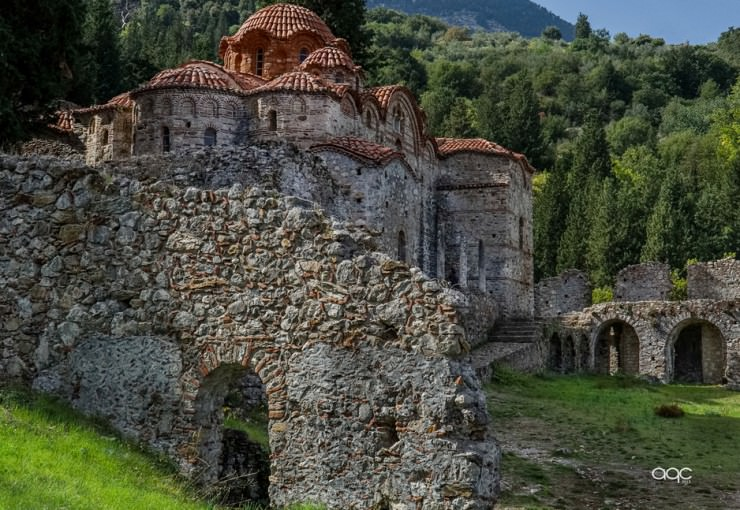 10. Mystras, Hellas (Greece) - Top 10 Medieval Towns in the World