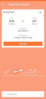 Tiket pesawat Surabaya-Jakarta Pegipegi
