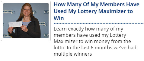 Lottery Maximizer reviews, Lottery Maximizer software, Lottery Maximizer Supercharged, The BEST Lottery Software, Lottery Maximizer Richard Lustig