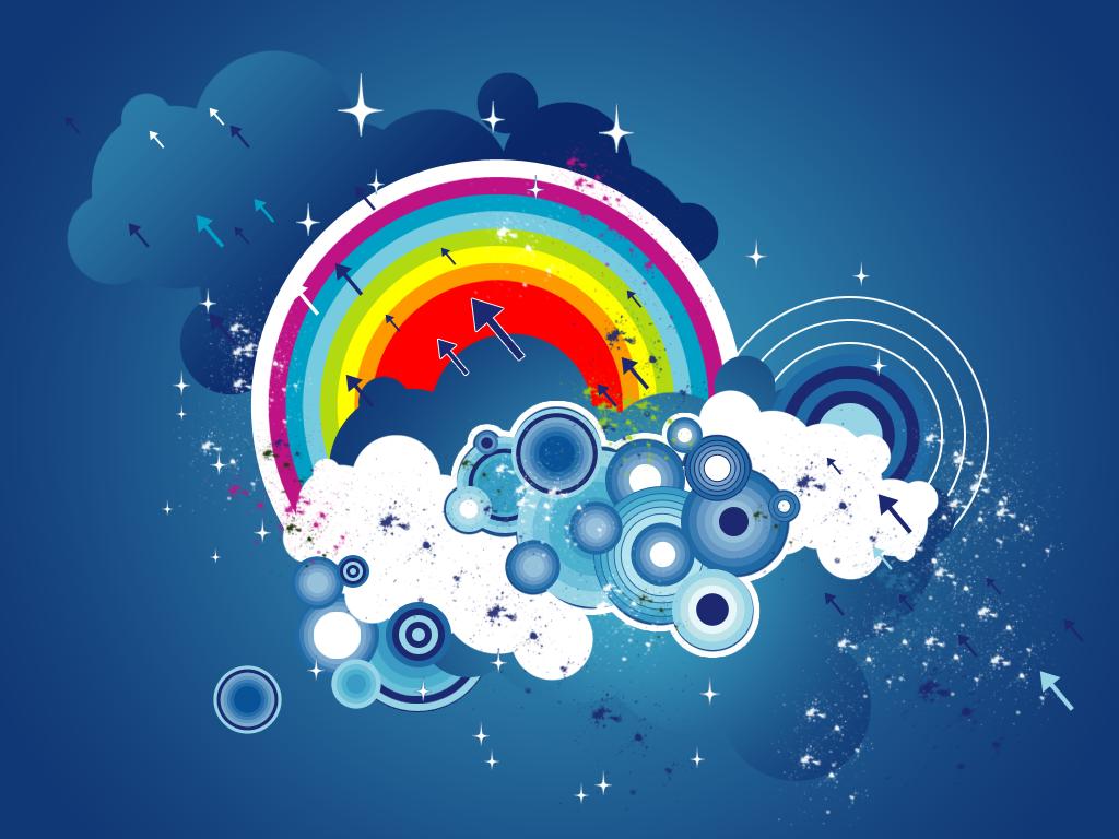 wallpaper see rainbow - photo #30