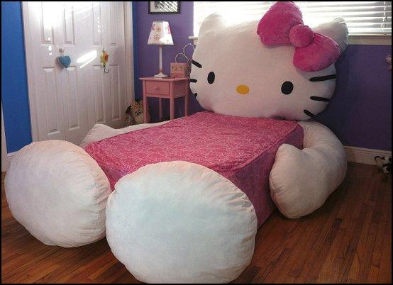 Bedroom set for a girl design ideas