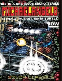 Teenage Mutant Ninja Turtles Color Classics: Michaelangelo Micro-Series