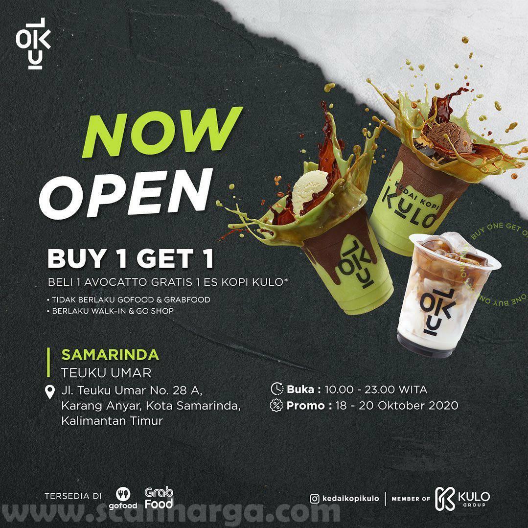 Kedai Kopi Kulo Samarinda Promo Opening Buy 1 Get 1
