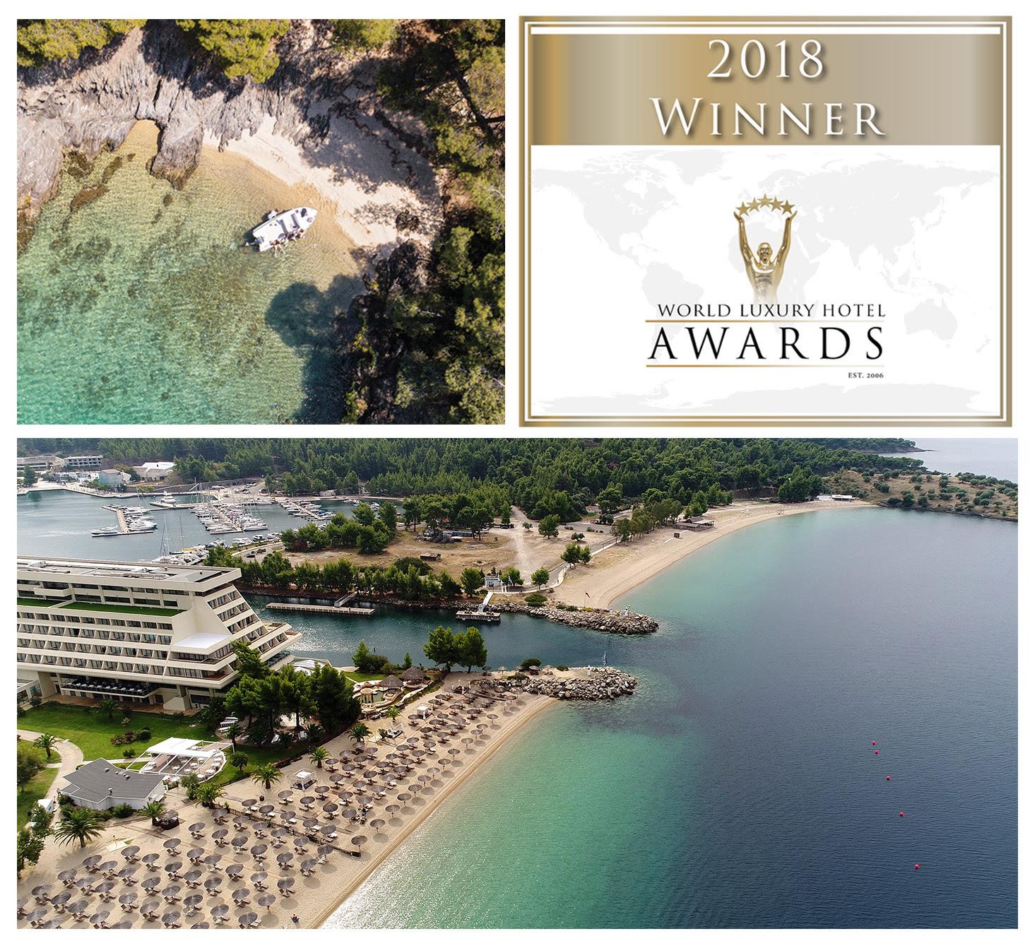 Tριπλή διεθνής βράβευση του Πόρτο Καρράς στα World Luxury Hotel Awards 2018!