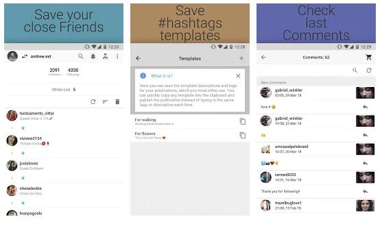 keeping track of their Instagram activities