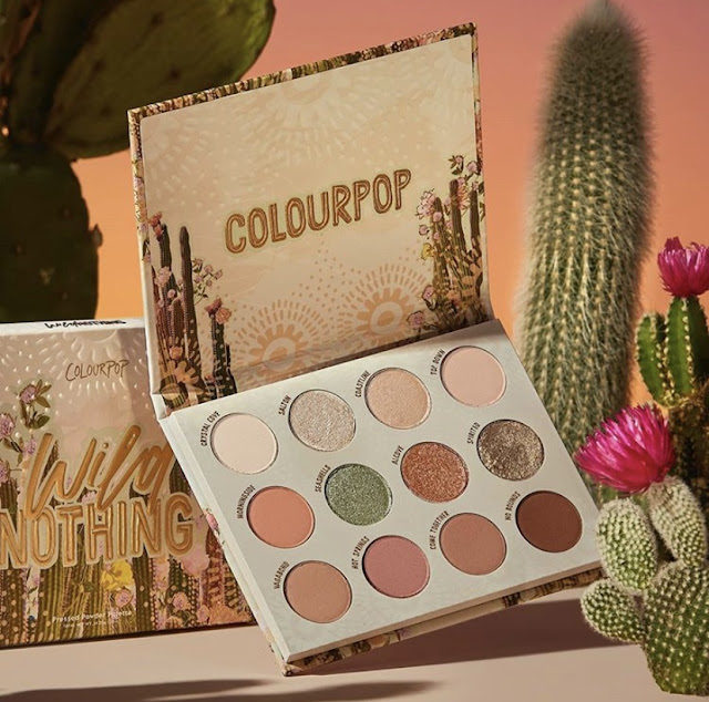 ColourPop Wild Nothing Collection palette