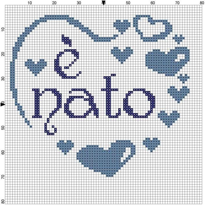 Hobby lavori femminili - ricamo - uncinetto - maglia  Schemi Bimbi ... 84f492d815a9