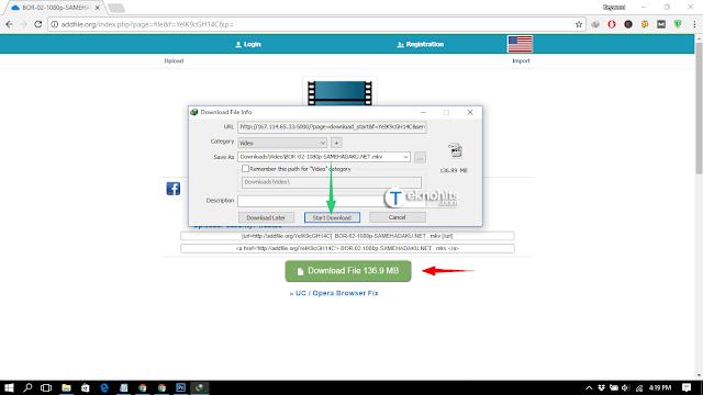 Download menggunakan IDM