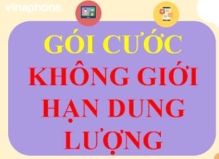 Gói 3G, 4G Không giới hạn Dung lượng của Vinaphone