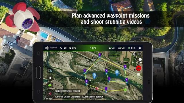أفضل تطبيق لتحسين تجربة الطائرة بدون طيار للاندرويد