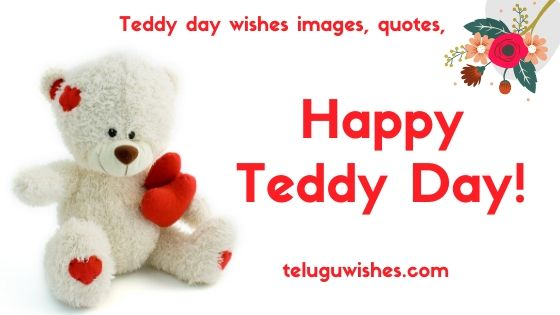 happy teddy day wishes, images, quotes