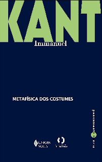 A metafisica dos costumes