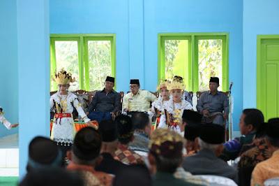 Wakil Bupati Lampung Timur Zaiful Bokhari Resmikan Gedung Sesat Agung Subing Tet Jeparo