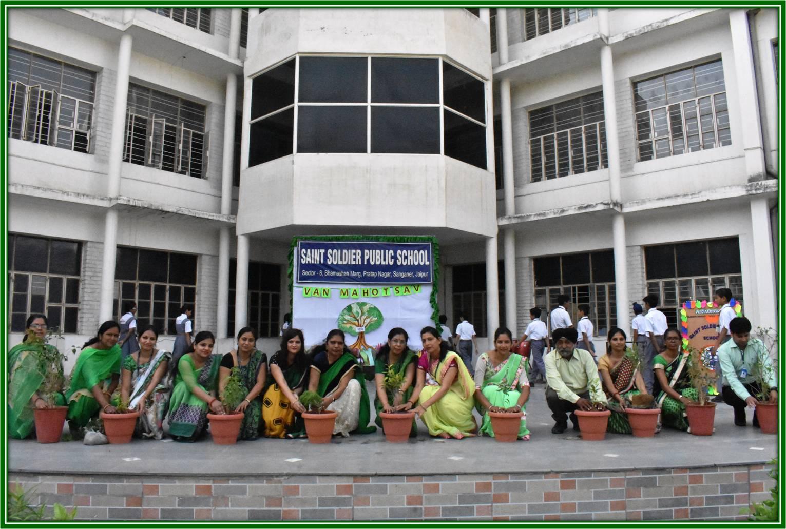 Saint Soldier Public School Pratap Nagar Jaipur: Opening