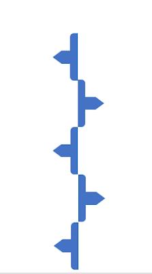 linea vertical del timeline