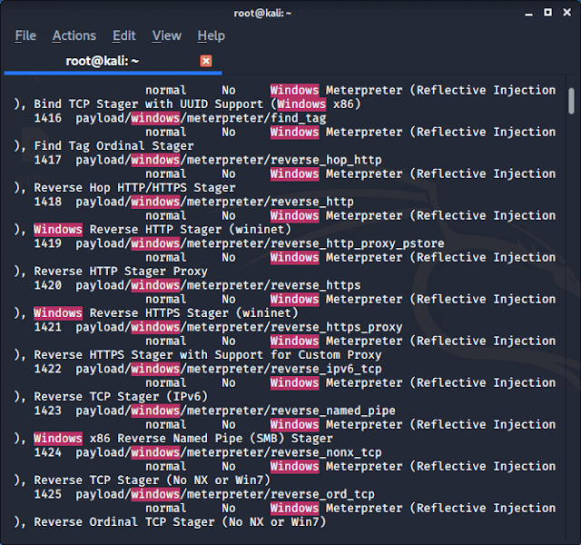Metasploit Framework  search