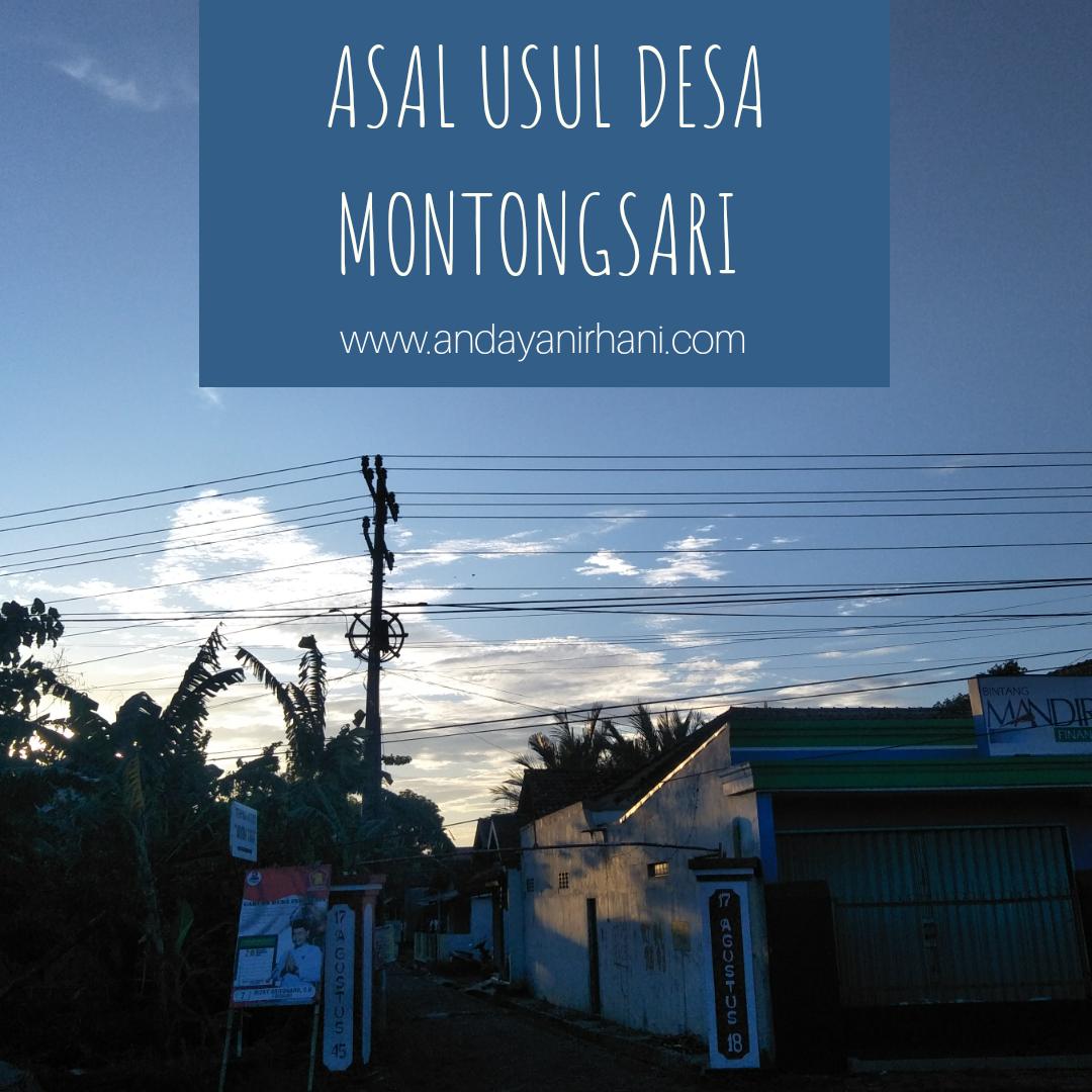 asal usul desa montongsari