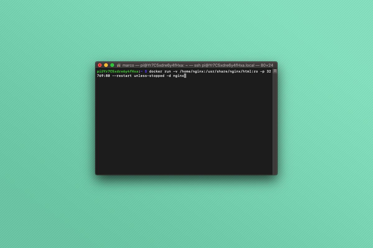 Come installare nginx con Docker