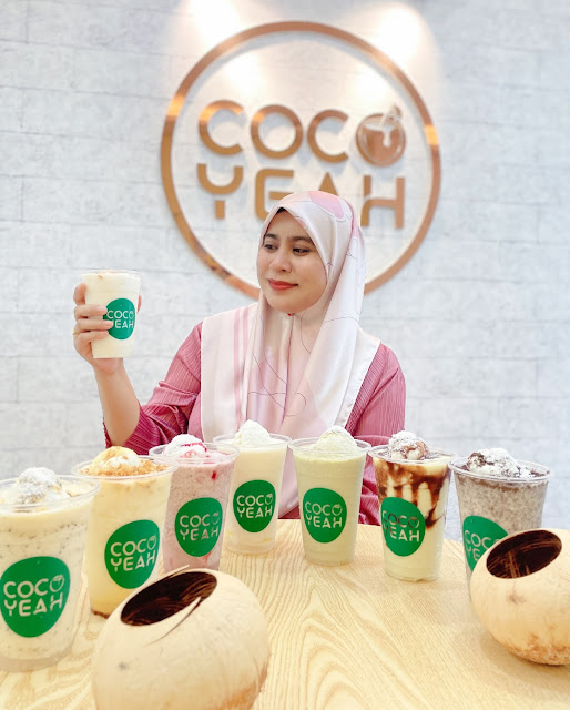 Coconut Shake Hipster di Cocoyeah