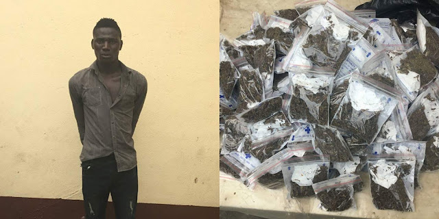RRS Nabs Man With 134 Raps Of Hemp In Oshodi