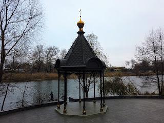 Святогорск. Свято-Успенская лавра. Беседка