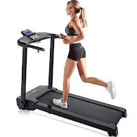 Merax JK103A Folding Electric Treadmill, review of low priced treadmill with 500w motor, 1-12 km/h speed range