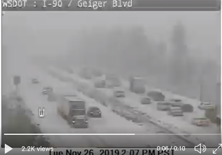 The Spokane MegaCar Crash Up, Snow, and a Warning for