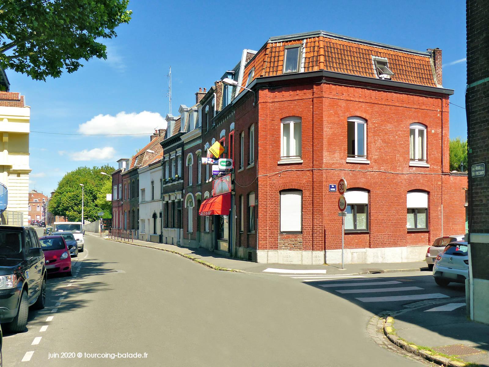 Rue du Fresnoy, Tourcoing, 2020