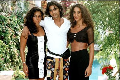 Los cantantes Lolita Flores, Antonio Flores y Rosario Flores