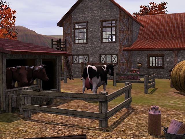 Vaches Sims 3